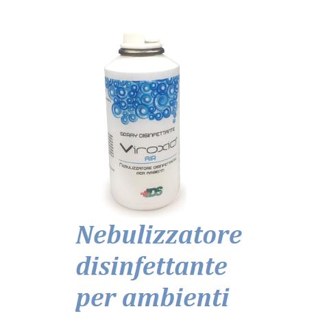 SPRAY / NEBULIZZATORE DISINFETTANTE PER AMBIENTI - VIROXID 150ml VIROXID NEB150