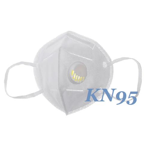 MASCHERINA CON FILTRO/VALVOLA 3D FFP2 KN95