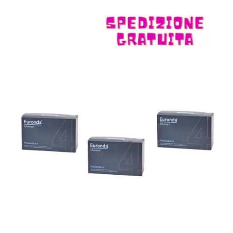 EURONDA 3 X MASCHERINE MONOUSO A 4 STRATI - 150 PEZZI  EURONDA MONOART