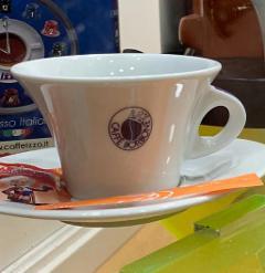 Tazze Cappuccino Borbone Ceramica