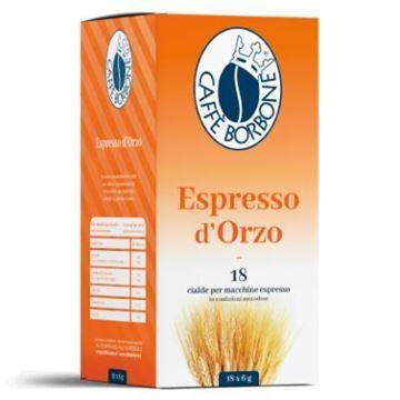 Espresso d'orzo Borbone cialda