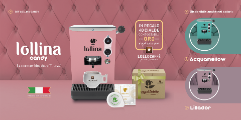Lollina Candy Special Edition Lollo Caffè Lollina Candy