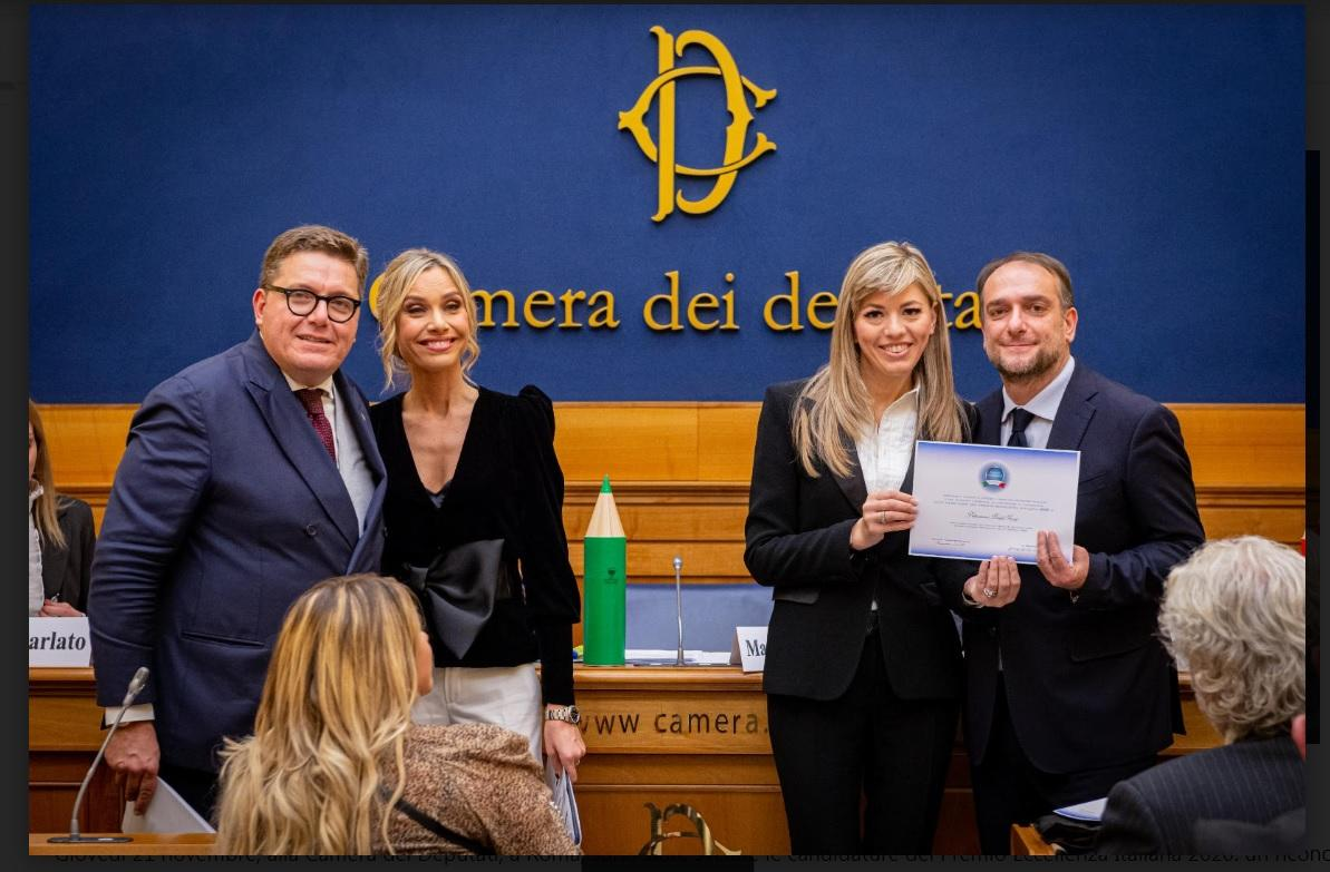 Bellantuono Bridal Group Premiata come Eccellenza Italiana 2020