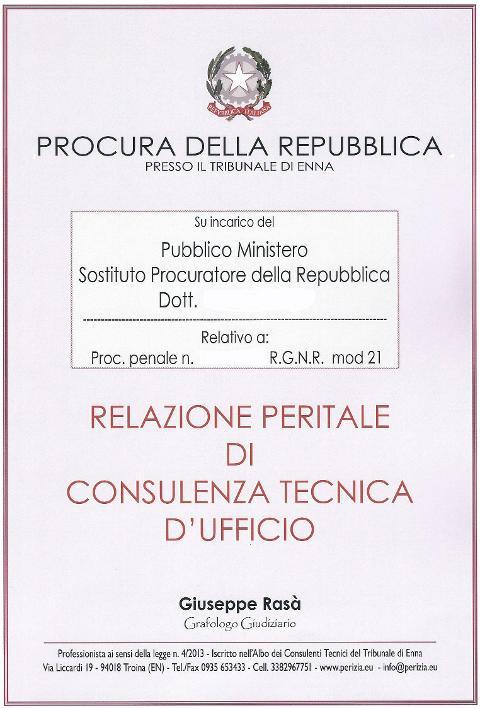 perito grafologo giudiziario (ex  calligrafo) RGcinque 6