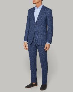 Abito Sfoderato Blu Denim Corneliani Slim fit