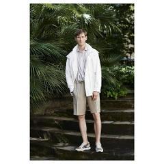 Bermuda in cotone stretch Corneliani Pantalone short