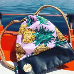 Sacca thermo bag MySack Crazy Summer Pineapples