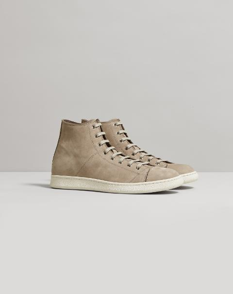SNEAKERS ALTA IN PELLE Corneliani Sneakers
