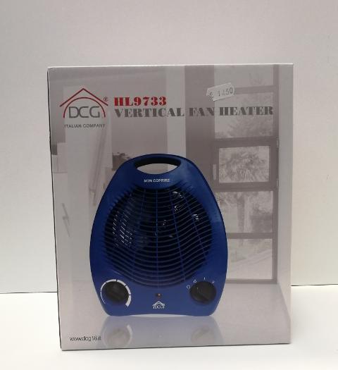 termoventilatore verticale  DCG  HL9733