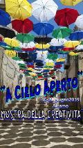 mostra collettiva creatività arte artigianato in strada Alcamo