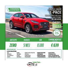Noleggio Lungo Termine All Inclusive Jaguar E-Pace 2.0 D14 150cv S Auto 4WD