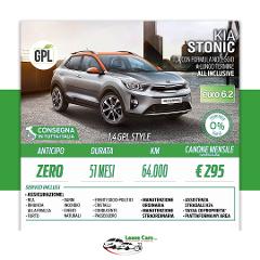 Noleggio Lungo Termine All Inclusive Kia Stonic 1.4 GPL STYLE