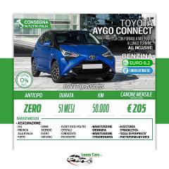 Noleggio Lungo Termine All Inclusive Toyota Aygo Connect 1.0 vvt-i X-Business
