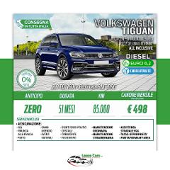 Noleggio Lungo Termine All Inclusive Volkswagen Tiguan 2.0 TDI 150cv Business BMT DSG