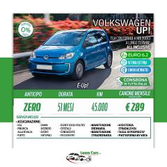 Noleggio Lungo Termine All Inclusive Volkswagen Up! E-UP!