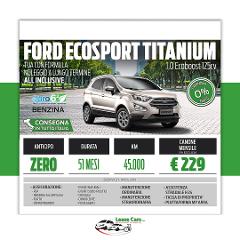 Noleggio Lungo Termine Ford EcoSport TITANIUM 1.0 EcoBoost 125cv
