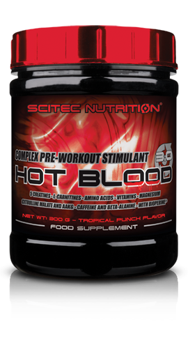 HOT BLOOD 3.0 SCITEC 300 GR