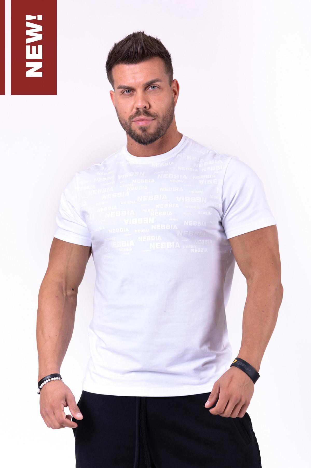 T-Shirt con stampa tono su tono - 145 NEBBIA More than Basic! T-Shirt