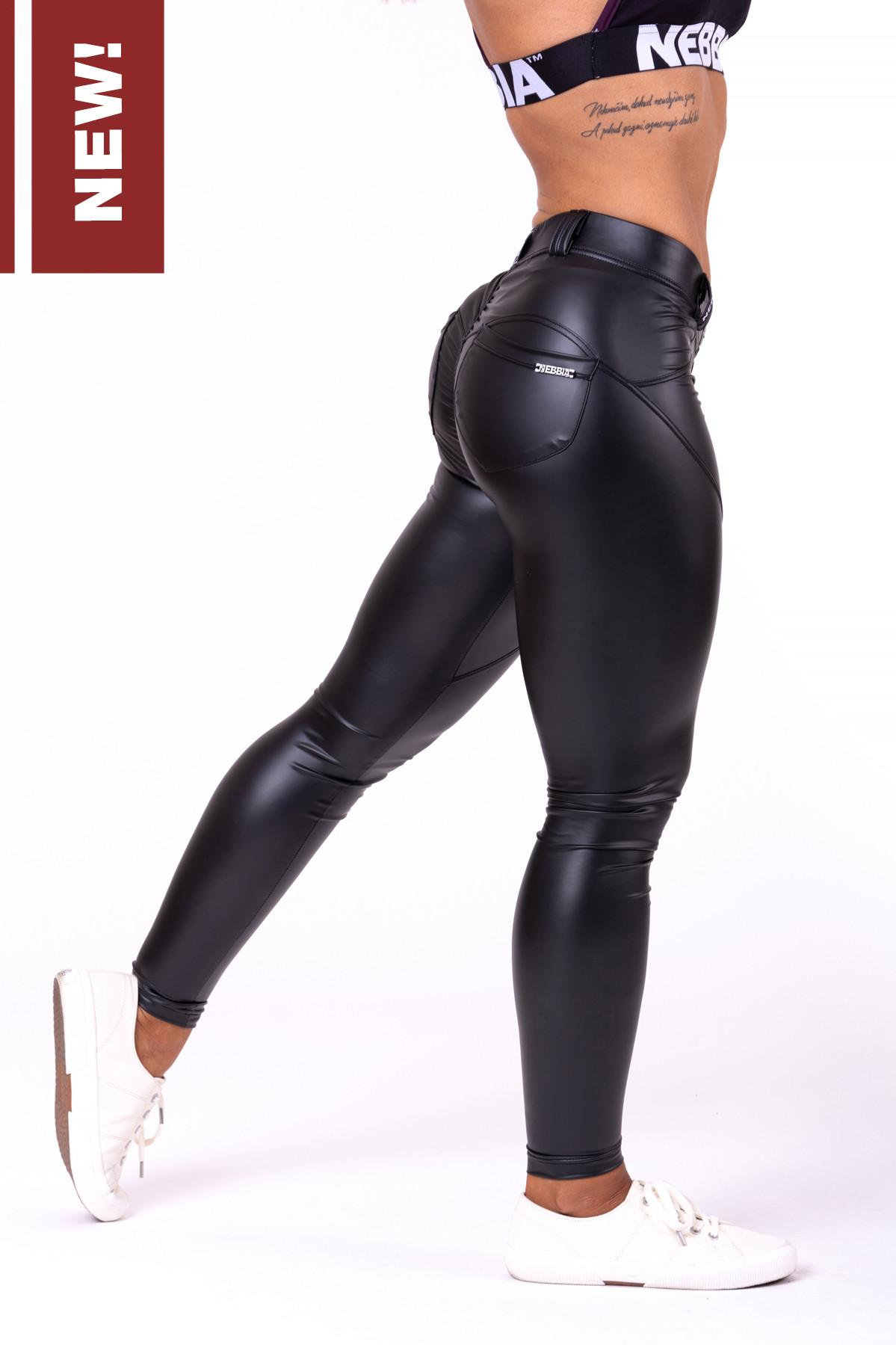 "Pantalone effetto bubble - 669 -  NEBBIA Bubble Butt pants ""Cat Woman"""