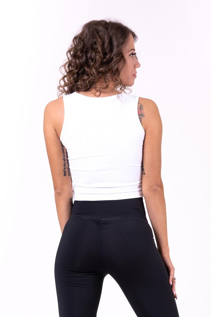 Canottiera corta 690 NEBBIA More than basic! cropped singlet