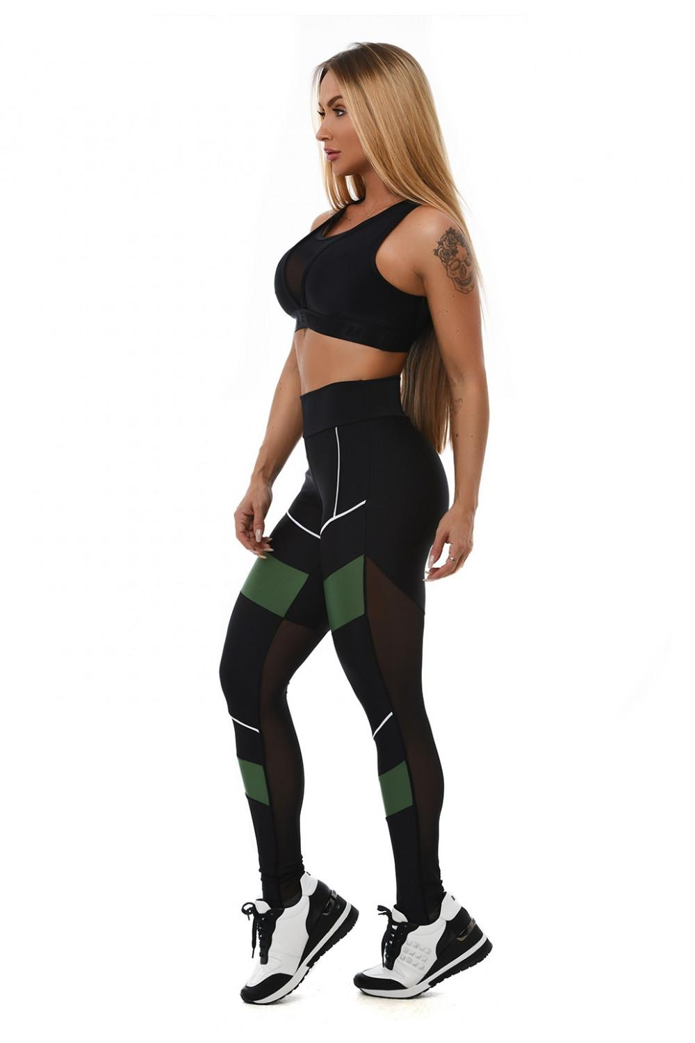 Leggings sportivo - L928 Lets Gym LEGGING LETSGYM MOVEMENT