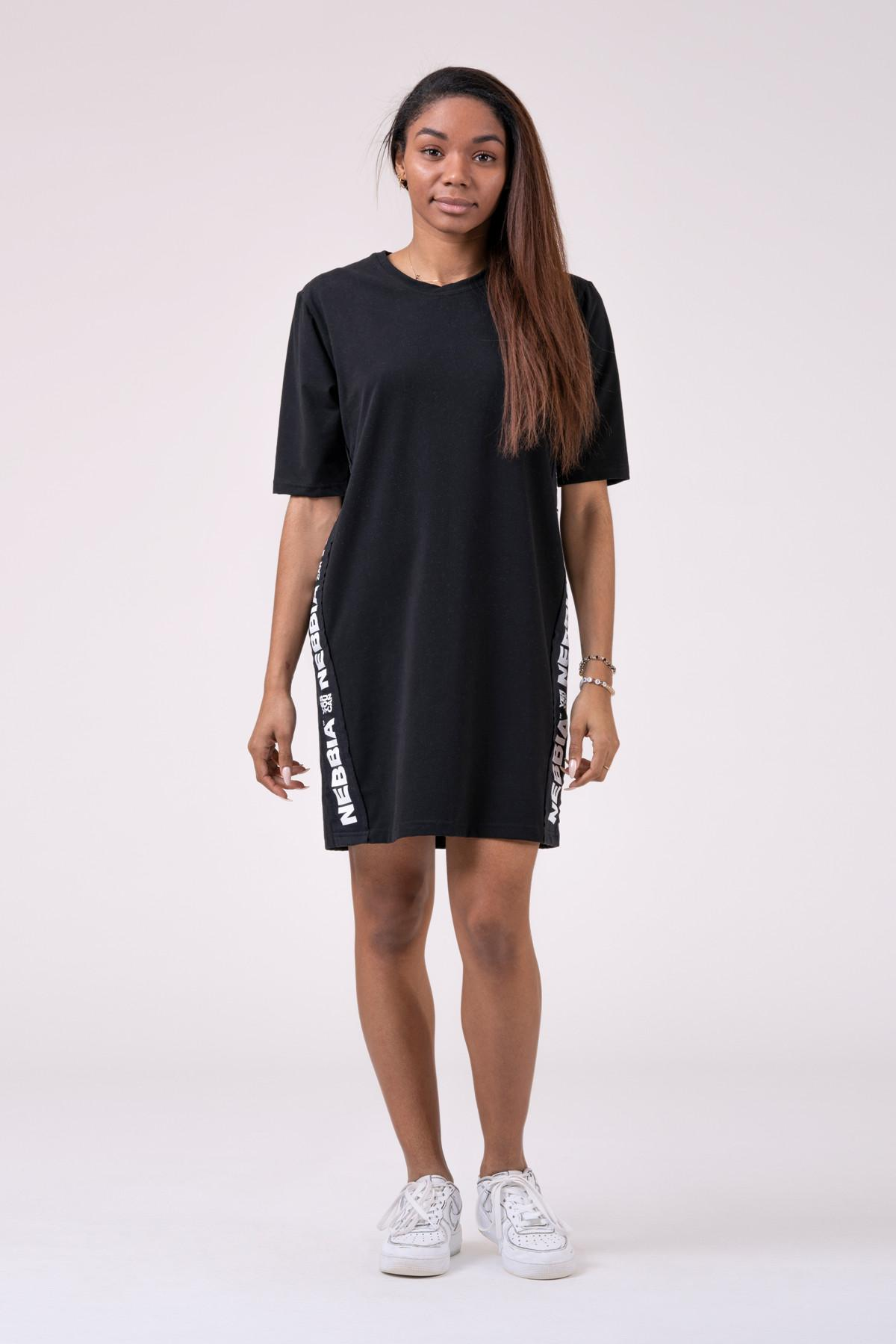 Playful Restday Oversized dress 522 NEBBIA Taglia S