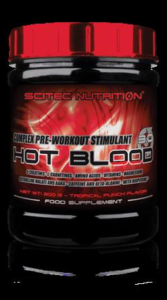HOT BLOOD 3.0 SCITEC 300 GR