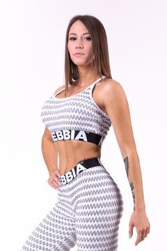 Mini top modello 3D Boho Style 659 NEBBIA Boho Style 3D pattern mini top