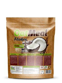 Fiocco d'avena 1000g Daily Life Oat Flakes