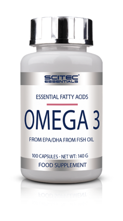 Omega 3 Essential - Acidi grassi essenziali EPA/HDA di olio di pesce Scitec 100 cps