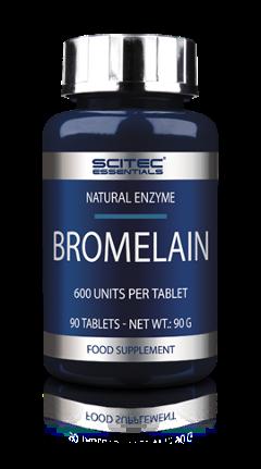 Bromelain  Enzima naturale Scitec 90 cps