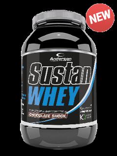 Sustan Whey - Proteina Isolata Anderson 800 gr