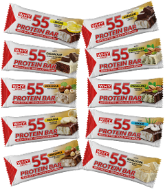 55 PROTEIN BAR - Barrette proteiche WHY