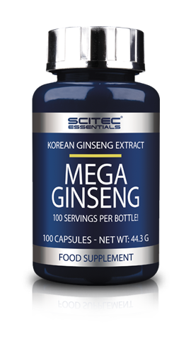 MEGA GINSENG SCITEC 100 CPS