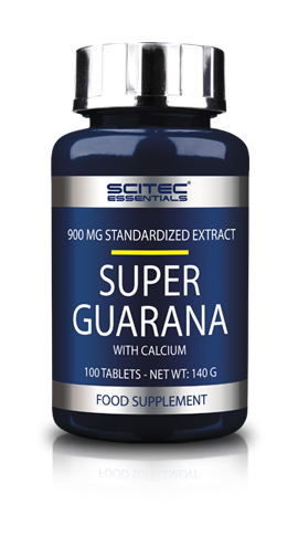 SUPER GUARANA 100 CPS  SCITEC