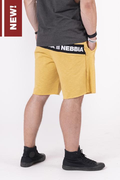 Shorts in tuta con orlo sfilacciato - 150 NEBBIA Be rebel! shorts