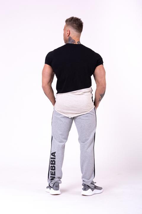 Pantaloni da jogging retrò a righe laterali 154 -  NEBBIA Side Stripe Retro joggers