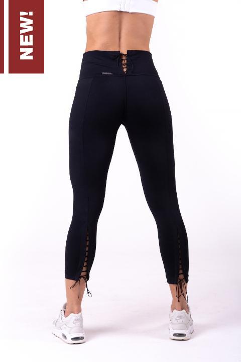 Leggings 3/4 con lacci posteriorI 661 NEBBIA Lace-up 7/8 leggings