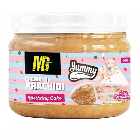 Crema di arachidi Yummy line MG 400g