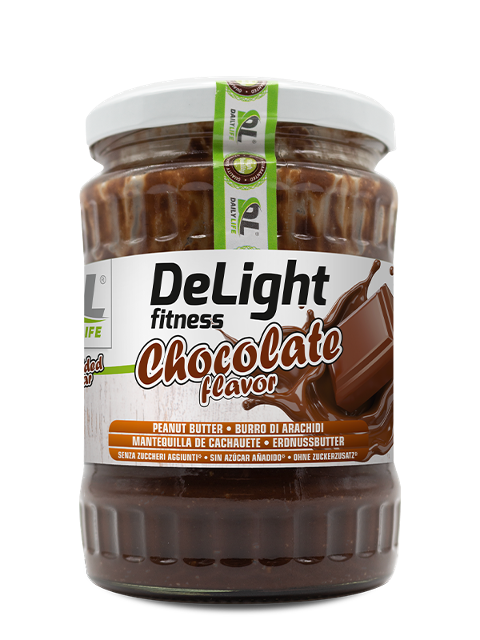 Delight Fitness burro di arachidi Daily Life 510 g