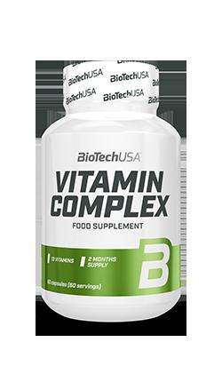 VITAMIN COMPLEX BioTech INTEGRATORE DIETETICO IN CAPSULE