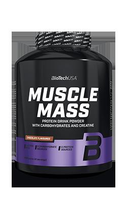 Muscle Mass BioTech 1 kg INTEGRATORE IN POLVERE CON CARBOIDRATI E PROTEINE CON CREATINA -