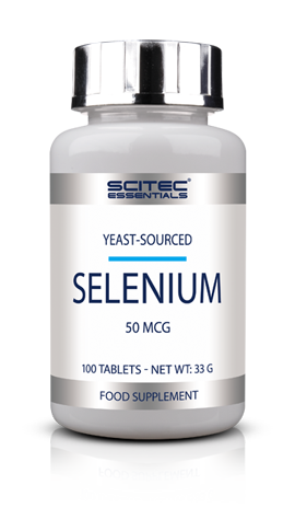 Selenium 100 Tab Scitec