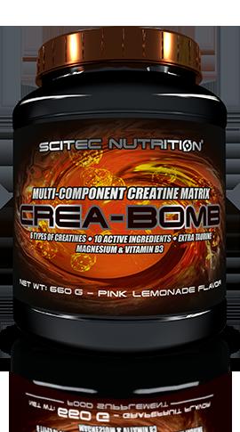 Crea Bomb - Miscela di più tipi di creatine Scitec 660gr
