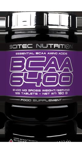BCAA 6400  Aminoacidi essenziali BCAA 2.1.1 Scitec