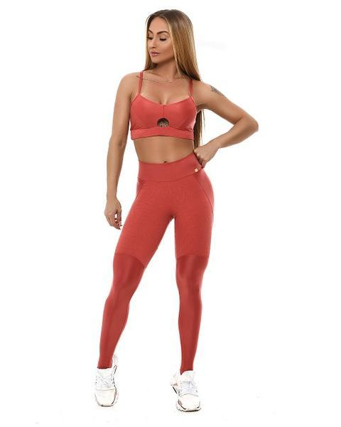 Leggings sportivo effetto lucido - L925 Let's Gym LEGGING LET'SGYM TROPICAL LUSH