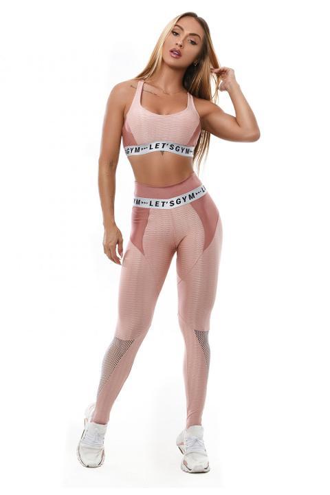 Leggings sportivo design originale - L916 Let's Gym LEGGING LET'SGYM CRYSTAL