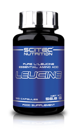 Leucine Scitec Aminoacido essenziale - 100 caps