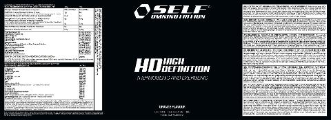 HD DEFINITION 400 GR ARANCIA SELF 400 GR Pre-Workout + Controllo del peso