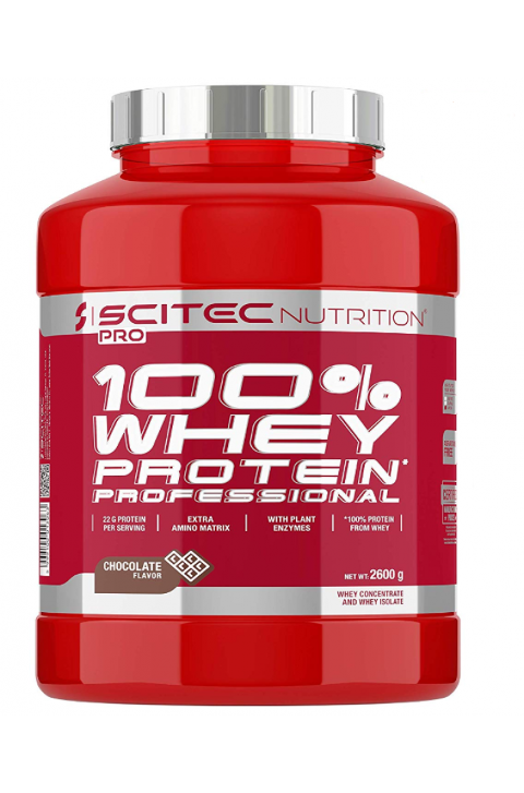 100% WHEY PROTEIN PROFESSIONAL SCITEC 2600 GR